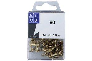 Alco Splitpennen ronde kop 17mm (ophangdoos) - 80stuks