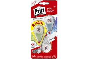"""Pritt Pritt Correctieroller """"Mini"""" 4,2mm x 7m - 2+1 gratis"""