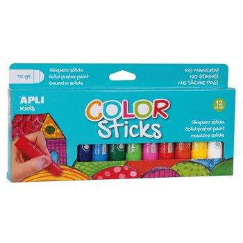 Apli APLI Kids Color Sticks 10gr - 12stuks