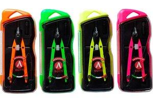 Schoolpasser 165 mm neon - 1 exemplaar