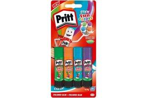 Pritt Pritt Stick Fun Colors - 4x10gr
