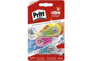 Pritt Pritt Micro Correctieroller 5mm x 6m - 2+1 gratis