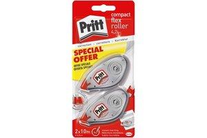 "Pritt Pritt Correctieroller ""Compact Flex"" 4,2mm x 10m (2e halve prijs)"