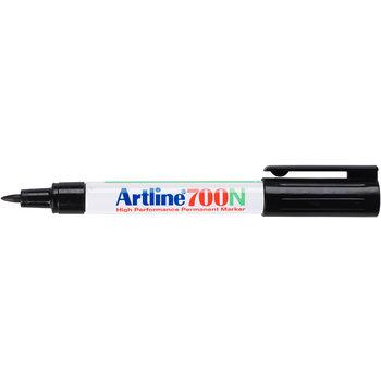"Artline Artline Permanente Marker ""700N"" ronde punt, lijndikte 0.7mm - zwart"