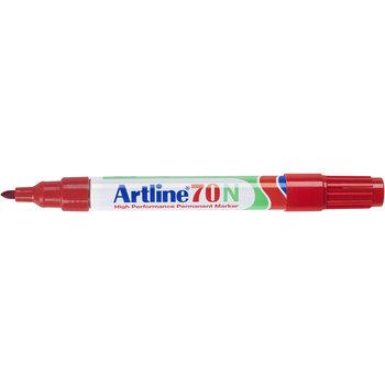 "Artline Artline Permanente Marker ""70N"" ronde punt, lijndikte 1.5mm - rood"