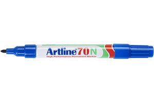 "Artline Artline Permanente Marker ""70N"" ronde punt, lijndikte 1.5mm - blauw"