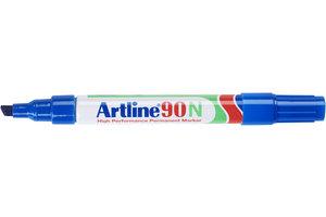 """Artline Artline Permanente Marker """"90N"""" met schuine punt, lijndikte 2-5mm - blauw"""