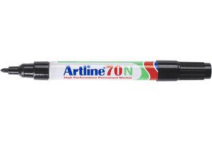 "Artline Artline Permanente Marker ""70N"" ronde punt, lijndikte 1.5mm - zwart"