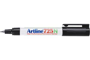 "Artline Artline Permanente Marker ""725N"" extra fijne punt, lijndikte 0.4mm - zwart"