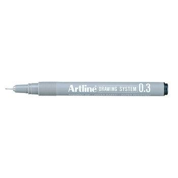 Artline Artline Technische tekenpen lijndikte 0.3mm - zwart
