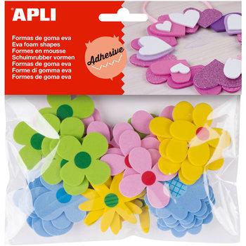 "Apli APLI Crea Schuimrubber vormen ""Bloemen"" - 40stuks"