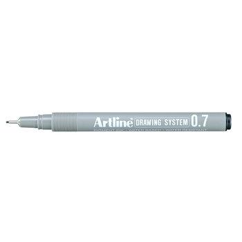 Artline Artline Technische tekenpen lijndikte 0.7mm - zwart