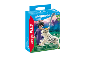 Playmobil PM Special PLUS - Aziatische vechter met tijger 70382