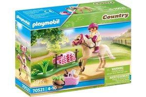Playmobil PM Country - Collectie pony 'Duitse rijpony' 70521