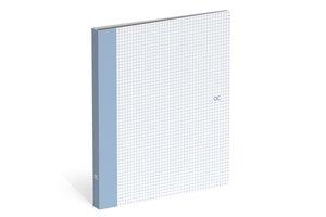 Ringband QC Colour (mini) PP/A4 met 2 ringen - skyway blue pattern