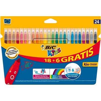 Bic BIC Kids viltstiften Kid Couleur Medium - 18+6 gratis
