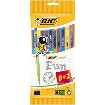"""Bic BIC Vulpotlood """"Matic Combos"""" met gomtop HB 0,7mm - 8+2 gratis"""