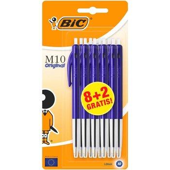 Bic BIC Balpen M10 Original - blauw - 8+2gratis