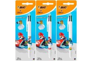 """Bic BIC 4-kleurenbalpen """"MarioKart"""" - 1 exemplaar"""