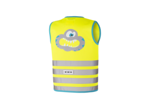 wowow Crazy Monster Jacket Yellow - L