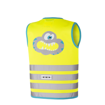 wowow Crazy Monster Jacket Yellow - XS
