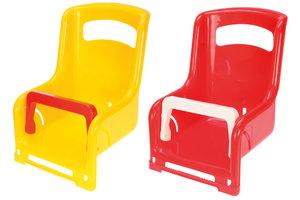 Lena Poppenzitje fiets bagagedrager - 1 exemplaar : rood OF geel