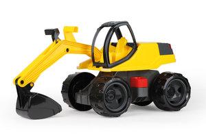 Lena Giga Trucks Graafmachine Pro (zwart/geel) - 63cm