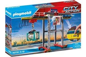 Playmobil PM City Action Cargo - Portaalkraan met containers 70770