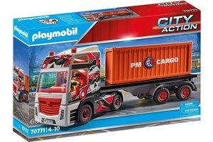 Playmobil PM City Action Cargo - Truck met aanhanger 70771