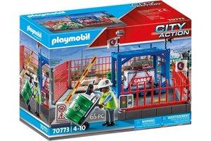 Playmobil PM City Action Cargo - Goederenmagazijn 70773