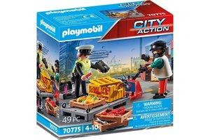 Playmobil PM City Action Cargo - Douanecontrole 70775