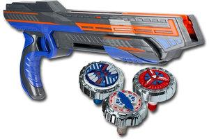 Silverlit Spinner M.A.D. Trio Shot Blaster - Avalanche