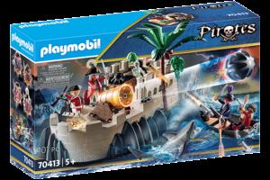 Playmobil PM Pirates - Vesting van de soldaten 70413