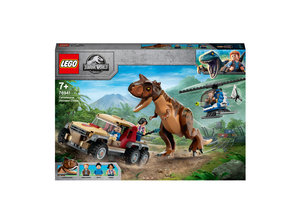 LEGO LEGO Jurassic World Achtervolging van dinosaurus Carnotaurus - 76941