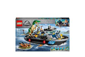 LEGO LEGO Jurassic World Bootontsnapping van dinosaurus Baryonyx - 76942