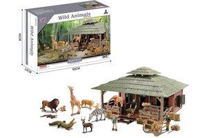 Boerderij met wilde dieren