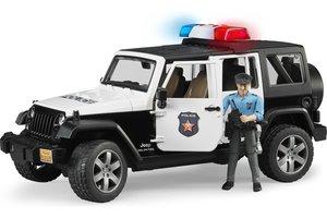 Bruder Politie Jeep Wrangler met politieagent