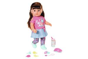 "Zapf Creation BABY Born - Soft Touch Sister ""Brunette"" 43cm"