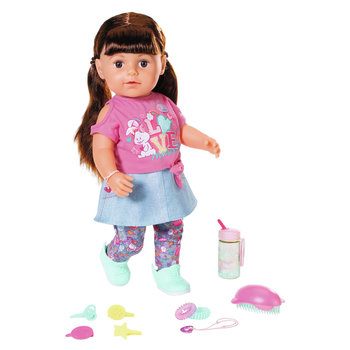 "Zapf BABY Born - Soft Touch Sister ""Brunette"" 43cm"