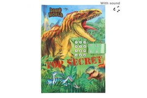 Depesche Dino World - Dagboek met geheime code