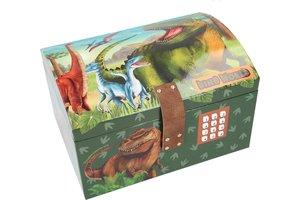 Depesche Dino World - Schatkist met code, geluid en licht