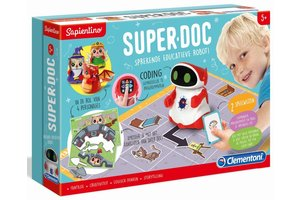 Clementoni SuperDoc - Sprekende educatieve robot! (5+)