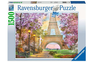 Ravensburger Puzzel (1500stuks) - Verliefd in Parijs