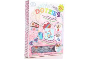 Diamond Dotz Diamond Dotz - Megapack Dotzies Art Kit (6-delig) - Girls