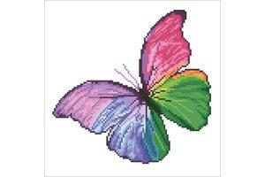 Diamond Dotz Diamond Dotz - Flutter by Pink 31x31cm