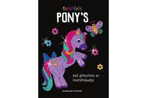 Standaard Uitgeverij Toverfolie - Pony's (met glitterfolie en inspiratieboekje)