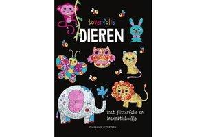 Standaard Uitgeverij Toverfolie - Dieren (met glitterfolie en inspiratieboekje)