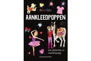 Standaard Uitgeverij Toverfolie - Aankleedpoppen (met glitterfolie en inspiratieboekje)