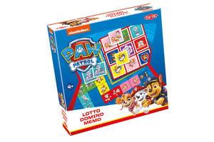 Tactic Paw Patrol - 3-in-1 (Memo/Lotto/Domino)
