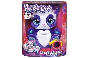 Spin Master Peek-a-Roo - Panda-Roo met baby (interactieve knuffel)